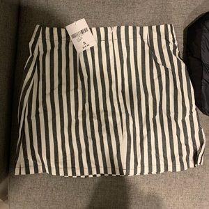 NWT Forever 21 Striped Skirt